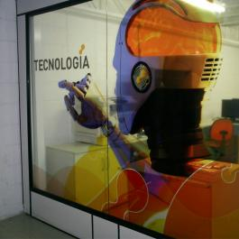 ADESIVO TRANSPARENTE Vinil  PVC 0.10mm  4X0 Brilho Corte Reto Qualidade Fotografica