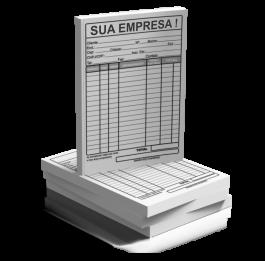 BLOCO DE PEDIDO SIMPLES 10x15cm 75g 10x15cm 4X0 Sem Revestimento Blocagem 100x1 Via Personalizado