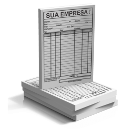 BLOCO DE PEDIDO SIMPLES 20x30cm 75g 20x30cm 4X0 Sem Revestimento Blocagem 100x1 Via Personalizado