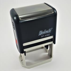 Carimbo RP 4060  40 x 60 mm Preto  RETANGULAR