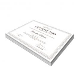 Certificados Alta Alvura 240g 210x297mm 4x0