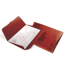 CONVITE CLÁSSICO 06 Envelope Color Plus Estampado Pequim 180g 148x210mm  Sem Verniz Corte e Vinco Padrão