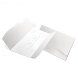 CONVITE CLÁSSICO 09 Envelope Aspen Perolizado 180g 142x210mm  Sem Verniz Corte e Vinco Padrão