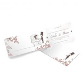 CONVITE ESPECIAL 02 Envelope Aspen Perolizado 180g 116x269mm  Sem Verniz Corte e Vinco Padrão