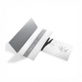 CONVITE MODERNO  07 Envelope Aspen Perolizado 180g 133x280mm  Sem Verniz Corte e Vinco Padrão