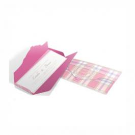CONVITE ROMÂNTICO  01 Envelope Aspen Perolizado 180g - Lâmina Aspen Perolizado 180g 100x180mm 4X0 Sem Verniz Corte e Vinco Padrão