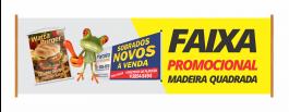 FAIXA PROMOCIONAL Lona Frontlight 280g 100x70cm 4X0 - Fundo Cinza/Preto Brilho Corte Reto Qualidade Fotografica
