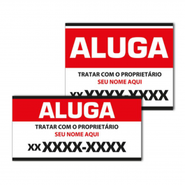 PLACA 20x30cm PS 2mm  - Adesivado Fundo Branco 20x30cm 4X0 Vinil Brilho Corte Reto Qualidade Fotografica