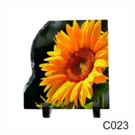 Porta Retrato de Pedra 15x15cm - C023  15X15