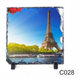 Porta Retrato de Pedra  20x20cm - C028  20X20CM