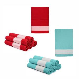Toalha de lavabo Algodão/Poliester 50x30cm - Possível variação de tamanho até 2cm